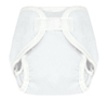White Hook And Loop Tweedle Bugs Sized Diaper Cover