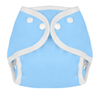 Sky Blue Snap Tweedle Bugs Sized Diaper Cover