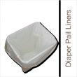Tiny Tush Diaper Pail Liner For Storing Soiled Cloth Diapers