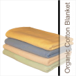 "Crib Size Organic Cotton Blankets....""Sleep On A Cloud"""