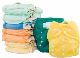 Tiny Tush Cloth Diapering Packages Work Well And Are Affordable