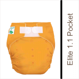 Tiny Tush Elite One-Size Fitted Pocket Diapers combine technology, design, and good old fashion comfort!