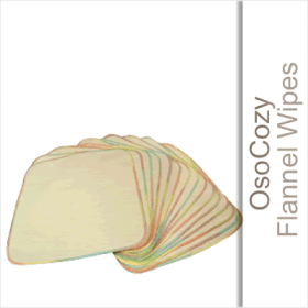 OsoCozy Flannel Baby Wipes