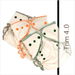Tiny Tush Trim One Size Cloth Diaper