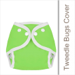 You'll appreciate the versatility of the Tweedle Bugs diaper covers! They fit nicely over all types of cloth diapers