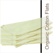 Organic Cotton Flat Cloth Baby Diapers On Sale