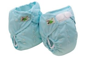 One Size Diaper Covers From Tiny Tush Available In Snap or Aplix