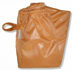 Orange Diaper Pail Liner With Travel Strap